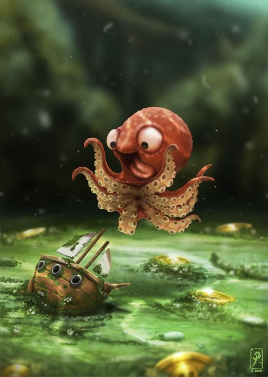 LB82 tout petit kraken