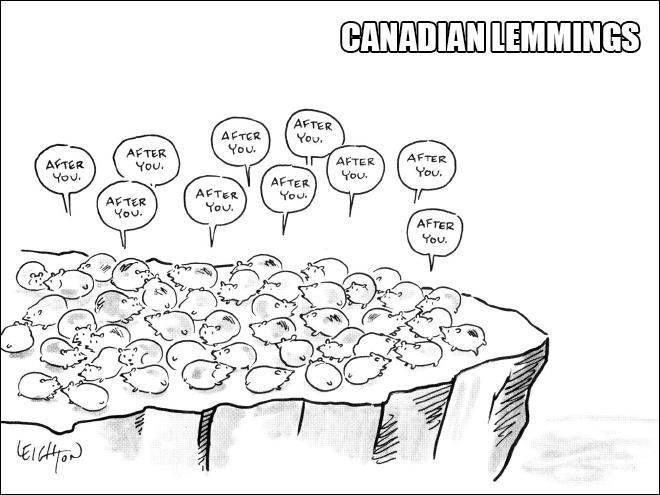 0000Canadian lemings