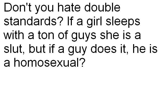 0000double-standards