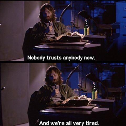 Noody trusts anybody te thing